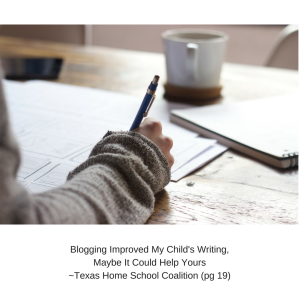 Blogging Improved My Child's Writing-3